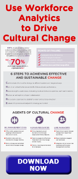 Use Workforce Analytics to Drive Cultural Change, DOWNLOAD NOW