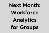 Workforce Analytics for Groups