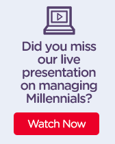 Did you miss our live presentation on managing Millennials?